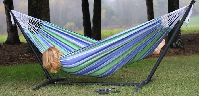 Relax With The Best Double Hammock With Portable Stand