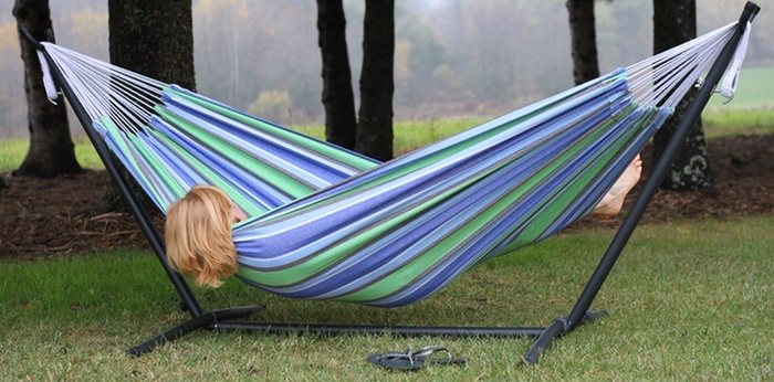 best double hammock with portable stand reviews