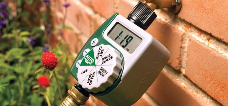 Maintain A Beautiful Lawn With Watering Timer