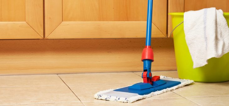Cleaning House Is Easier With 360 Spin Mop