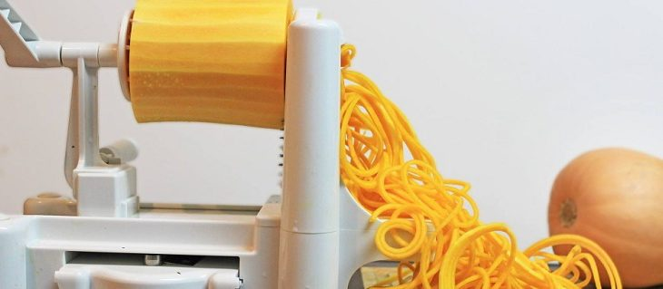 It's Easy To Eat Healthy With Spiral Vegetable Slicer