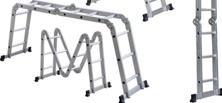 Give Yourself a Leg Up on Work with the Right Stepladder
