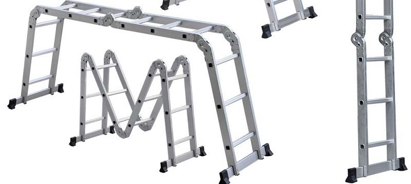 3 Best Foldable Step Ladders Reviews [OxGord Aluminum | Flip-N-Lite]