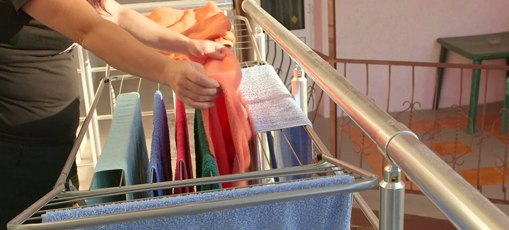 Save Money On Laundry With Clothes Drying Rack