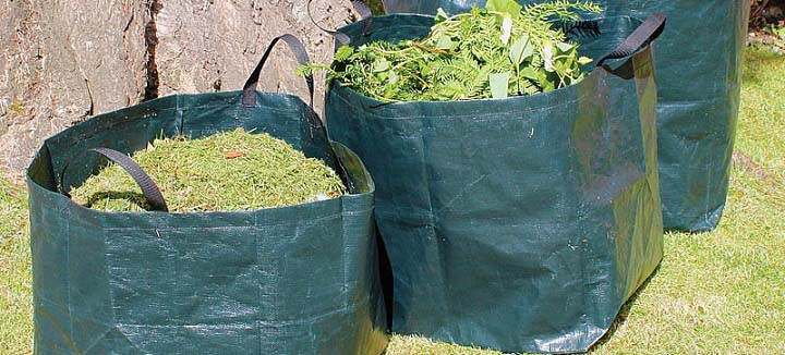 Save Money With Reusable Yard Waste Bags