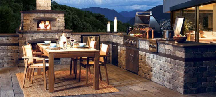 outdoor kitchen plan 6 key elements