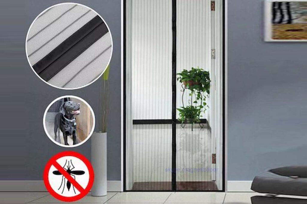 Best magnetic screen door mess curtain