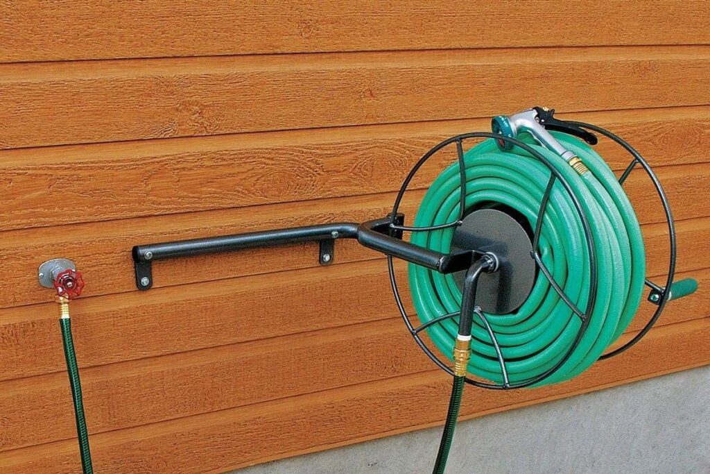 best garden water hose reel