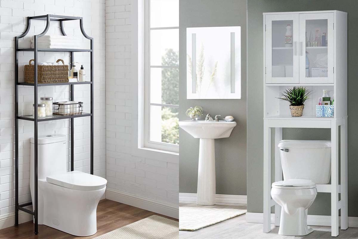 10 Best Over The Toilet Organizers