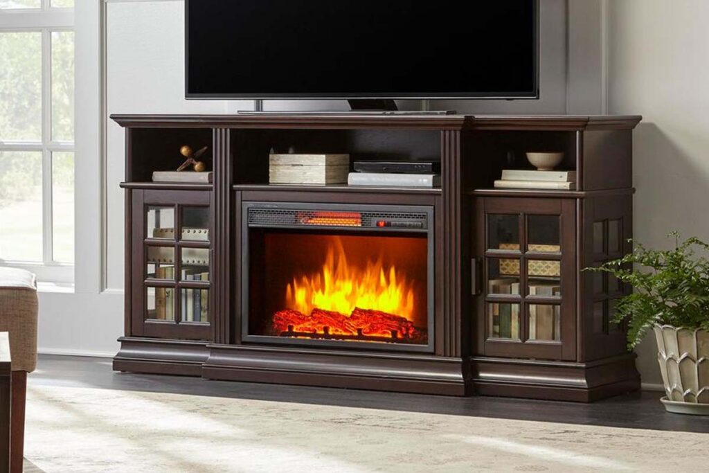 09 best fireplace tv stand
