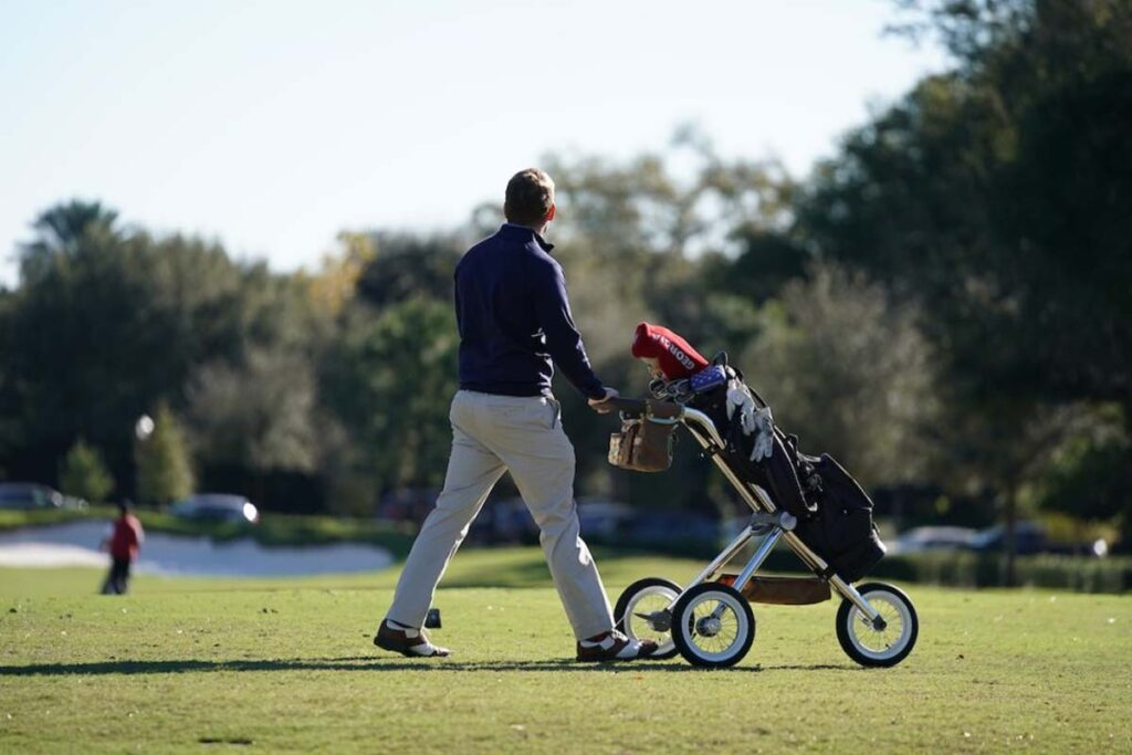 Best Golf Push Cart Reviews