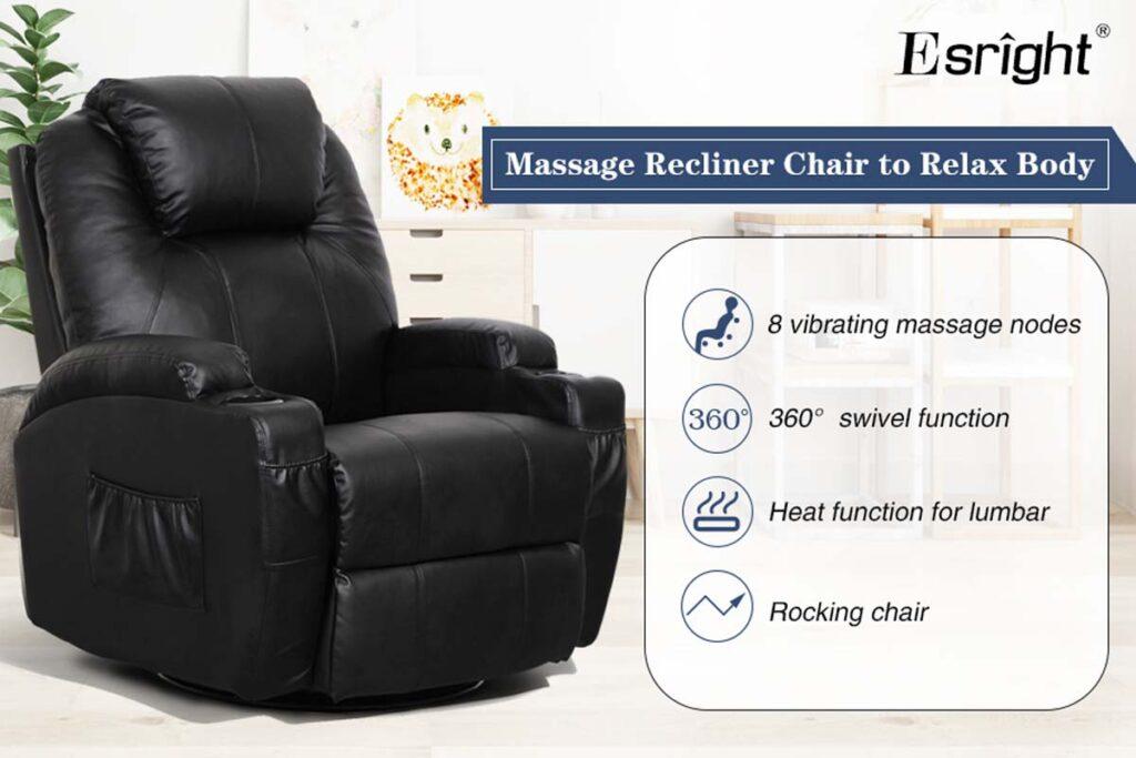 best swivel rocker recliner