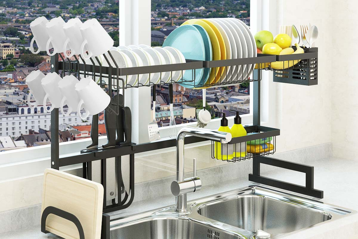 10 Best Over The Sink Dish Racks